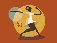 Feel Good Swing - Jazz Roots Illustration