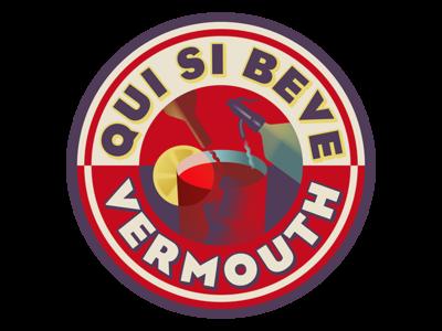 Vermouth sticker
