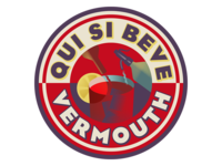 Vermouth sticker