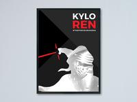 Kylo Ren Poster