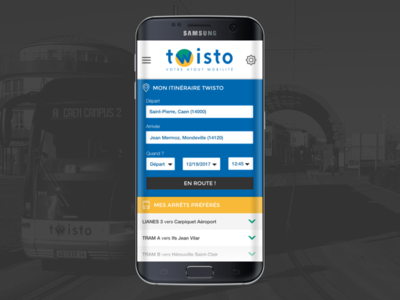 Bus Network App city tram tramway metro bus transport