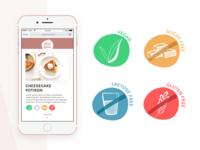 Vegan Bakery Icons