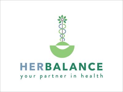 Logo for HerBalance