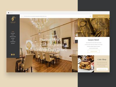 Golden Deer in Prague Website