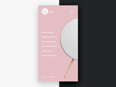 Beoplay Navigation a9 pink olufsen music mobile speakers clear beoplay bang app