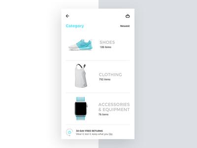 New Barcé concept Category