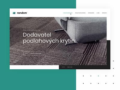 Random - Frontpage ui desktop web