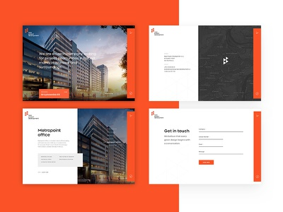 New Project Development - Page warsaw house architecture site desktop web
