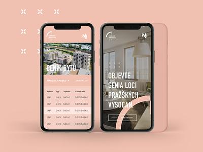 Harfistka - apartments estate real ios ui app mobile