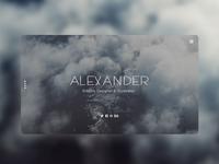 Alexander - Landing Page