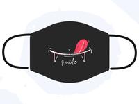 Design For Good Smile Mask illustration mask smile
