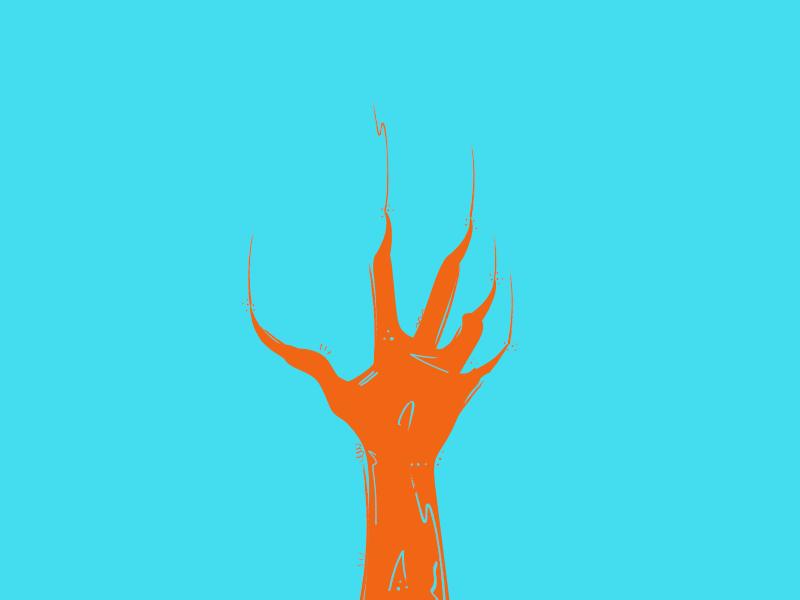 Zombie Typehue illustration zombie z typehue