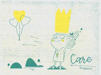 Care by Iván  via dribbble