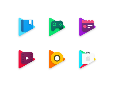 Google Play product redesign google