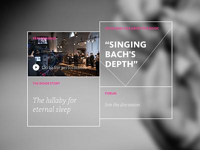 All of Bach navigation amsterdam the netherlands fabrique menu flat design flat ui interface ux bach