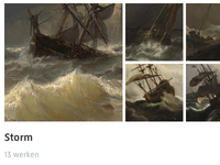 Detail of the new Rijksmuseum website