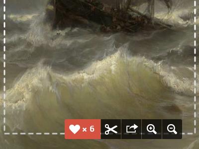 Detail of the new Rijksmuseum website II museum ui webdesign icons rijksmuseum amsterdam navigation art