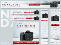 Nikon D750 DSLR | Holiday Digital Ad Campaign