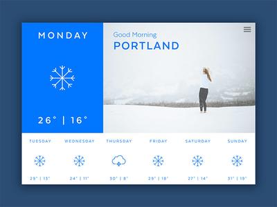 Forecast | Weather App Concept