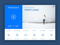Forecast | Weather App Concept