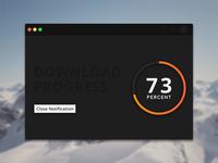Download Progress Widget