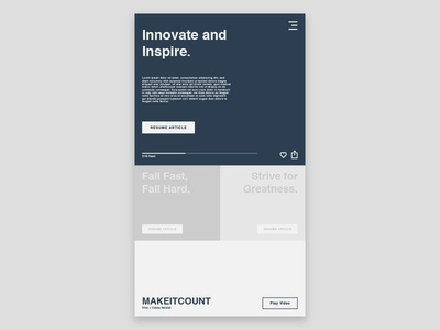 Innovate and Inspire
