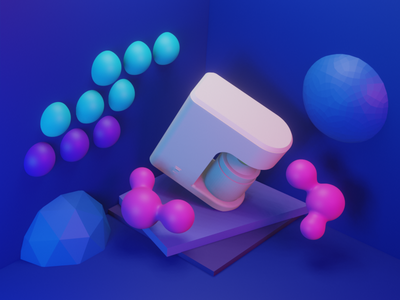 abstract render 3d blender3d blender