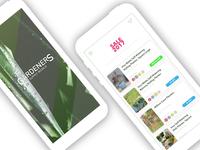 Gardeners - shopping app