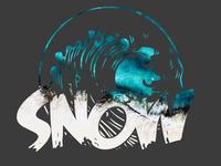 Snow - T-shirt new desing.