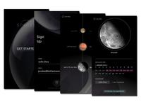 #SPACEDchallenge App concept