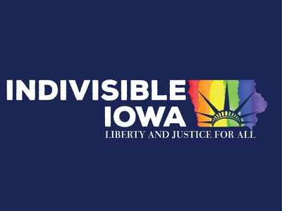 Indivisible Iowa Redesign for Pride