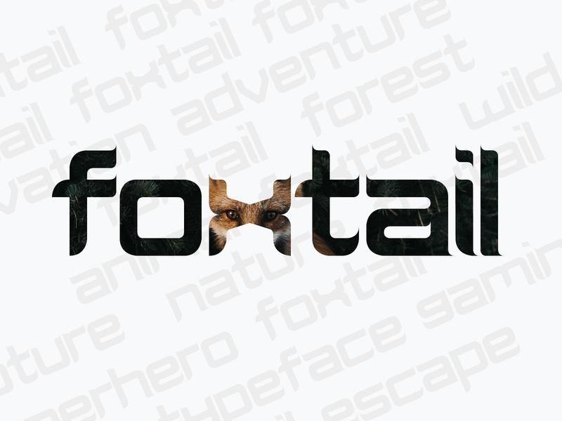 Foxtail - Original Typeface Design adventure summer hebraic texture gabesilverstein foxtail fox font typeface type typography