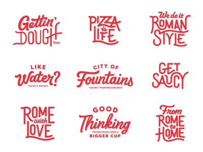 Project Lettering focus lab typography type sketch branding logotype logo hand lettering hand drawn pizza brush