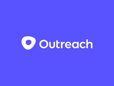 The New Outreach crm mark logotype logo design logo identity focus lab branding outreach