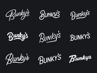 Bunkys Logotypes