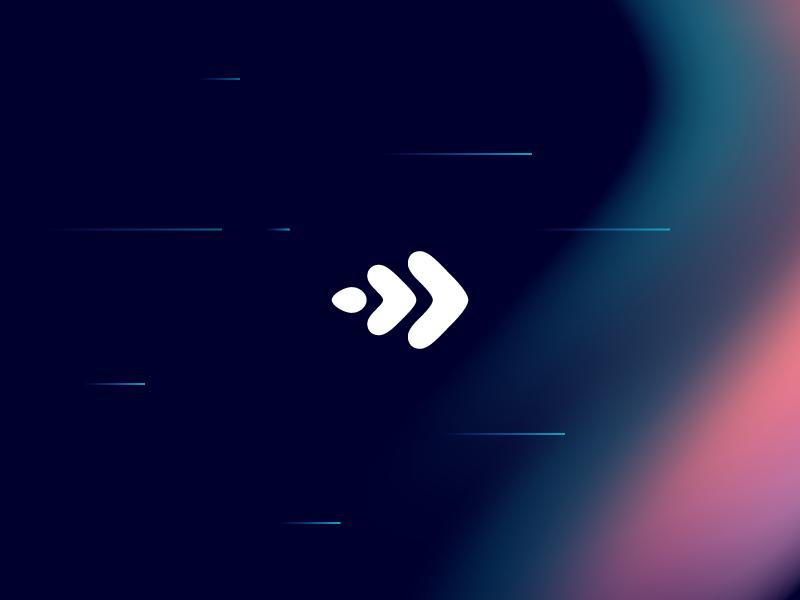 Teaser line focus color fade movement identity mark logo branding