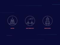 Cities & Landmarks