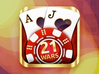 21 Wars Cards iOS Game Main Icon