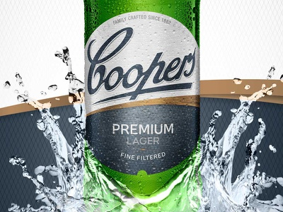 Coopers D 800x600 beer brand design beer label design beer branding beer packaging design packaging designers australian packaging design packaging design sydney packaging design packaging