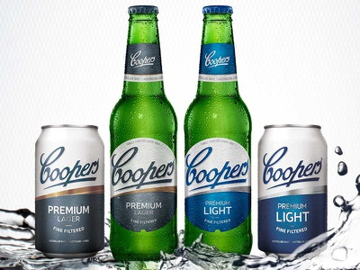 Coopers A 800x600 beer brand design beer label design beer branding beer packaging design packaging designers australian packaging design packaging design sydney packaging design percept packaging