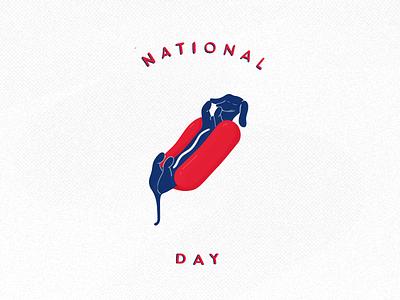 Hot Dog fun bun illustration adobe sausage dog hot dog hotdog