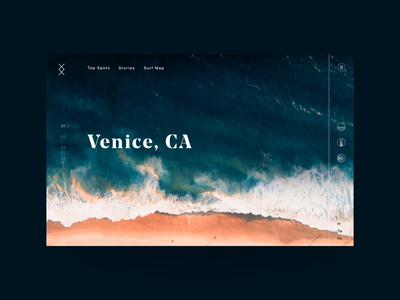 Surf Location Forecast Landing Page