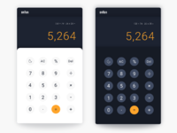004 calculator braun dribbble day night