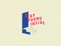 Stayyounginside door