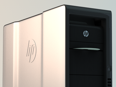 HP Workstation cinema 4d c4d hp motion model 3d cinema4d workstation dad