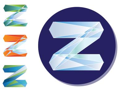 Z Geo Logo lines design geo geometric illustrator z logo