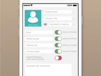 Iphone App WIP