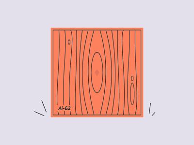 B O X adobe illustrator cc box design black  white black orange illustration ai inside mistery wood container box