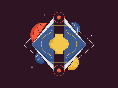 ♡ Existence ♡ animation vector illustrations illustration textures texture geometric design lines dribble shapes existence