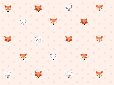 Daily UI #059: Background Pattern fox pattern background ux ui background pattern daily ui 059 daily ui